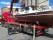 Skadad båt Enköping för transport till Strängnäs varv