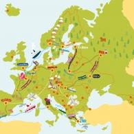 Natur & Kultur Kompass Europa