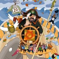 Öde Öman, Liber Piratresan 2007