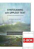 Syntolkning och uppläst text - E-bok