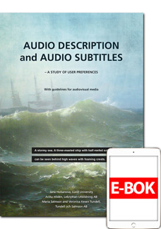 Audio Description and Audio Subtitles - E-book - Audio Description and Audio Subtitles - E-book