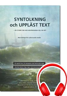 Syntolkning och uppläst text - DAISY - Syntolkning och uppläst text - DAISY