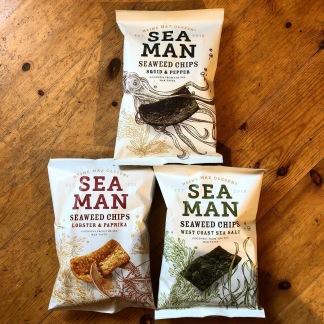 TÅNGCHIPS Seaman Seaweed Chips - Lobster & Paprika(Blåstång, hummer & paprika)
