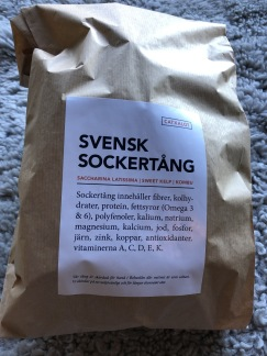 SOCKERTÅNG | SWEET KOMBU - Sockertång | Sugar kelp 20g