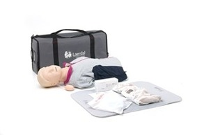Resusci Anne First Aid Torso in Carry Bag - Resusci Anne First Aid Torso in Carry Bag
