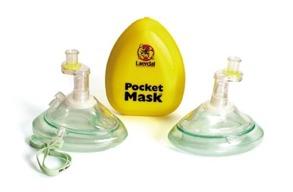 Pocketmask utan syrgasnippel - Pocketmask, utan syrgasnippel
