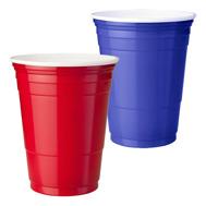 american-partymuggar blåröd