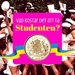 Vad kostar studenten?