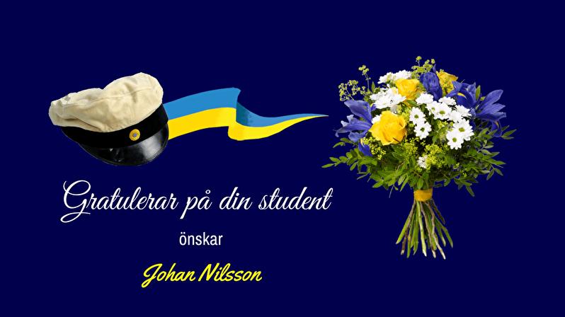 Gratulera studenten med ett gratulationskort