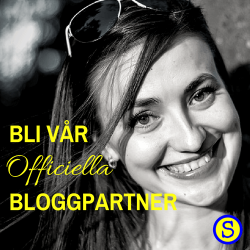 Bli vår Officiella bloggpartner du med