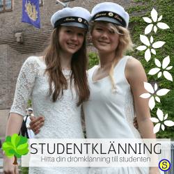 Vi hjälper dig hitta din Studentklänning