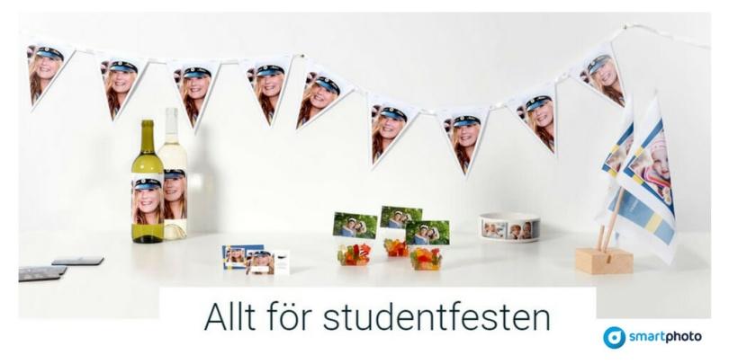 Smartphoto allt för studentfesten
