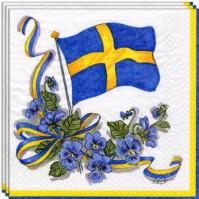 pappersservetter-svenska-flaggan