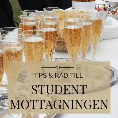 Tips och råd till studentmottagning