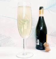 Gigantiskt champagneglas 75 cl
