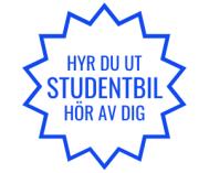 Hyr du ut studentbil?