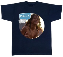 T-shirt med bild/namn