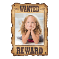 Wanted Studentskylt