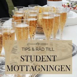 Tips & råd till studentmottagningen.