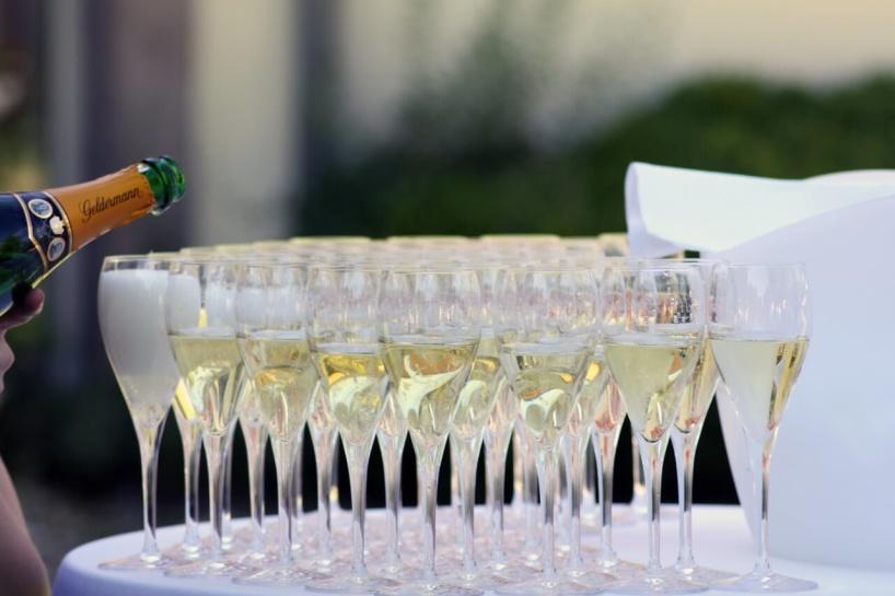 Champagne till studenten