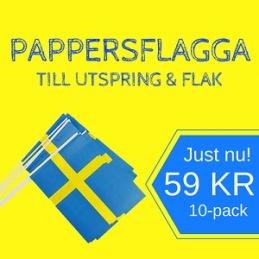 Pappersflagga