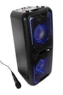 REFLEXION PS08BT Bärbar Bluetooth-högtalare, Svart, 480 W