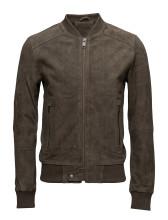 Selected Homme - Shnjoe suede bomber jacket
