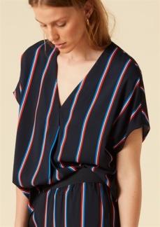 Twist & Tango - Tatiana Blouse - Small Stripe - 34