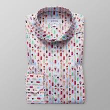 Eton - Skjorta med glassmotiv