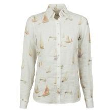 Stenströms - Boat linen classic shirt