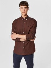 Oxfordsydd långärmad skjorta - Selected Homme