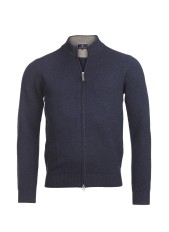 Hansen & Jacob - Full zip structure knit