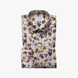 Eton - Blommig skjorta - 41
