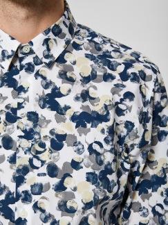 Selected Homme - Skjorta mönstrad - S