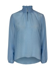 Light Blue Feminine Shirt - Mos Mosh