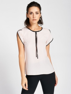 Piping Blouse Pink - Rinascimento - S