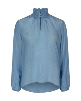 Light Blue Feminine Shirt - Mos Mosh - XS