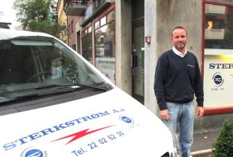 Sterkstrøm AS ved Daglig leder Kenneth Melzer er stolt sponsor av Casas da Noruega