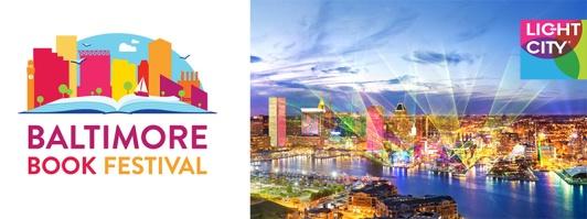 """Ljusfestivalen """"Light City"""" och """"Baltimore Book Festival"""", i år slås de samman till ett."""
