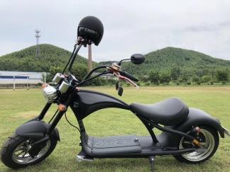 Harley City bike 2000W - Harley City Bike mattsvart