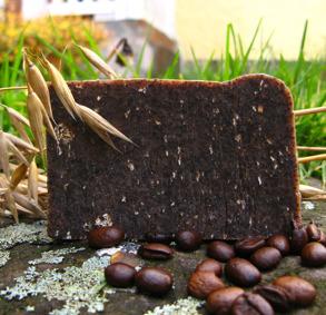 Pimpstenstvål med kaffe -