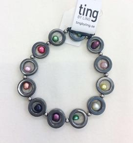 Armband hematit med pärlor - Armband hematit med pärlor