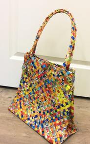 Väska med knoppar - Väska med knoppar multi