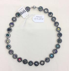 Halsband hematit och pärlor - Halsband hematit och pärlor