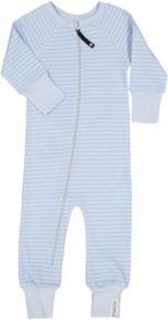 Pyjamas - Pyjamas ljusblå-blå 50/56