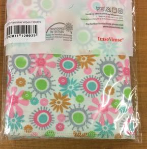 Tvättlappar mönstrade - Tvättlappar blommor