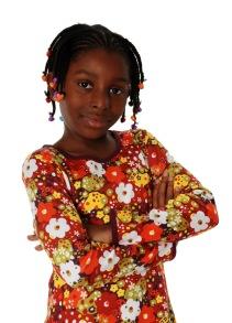 Tröja långärmad blommor - Långärmad tröja röd 86