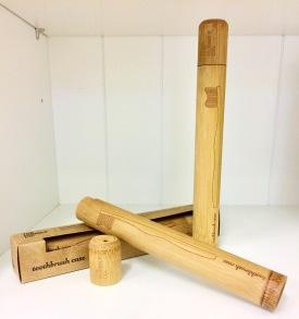 Bambufodral till tandborste