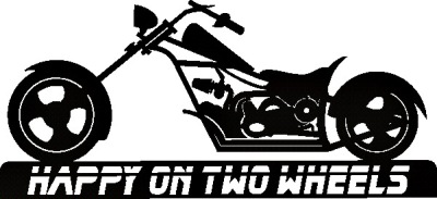 Happy on two wheels -