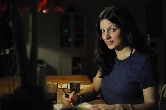 Ingrid Wisell lanserar snart sin nya bok Vems mjölk? (bild Jessica Forsling)